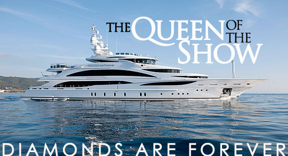 diamonds are Fprever at Palm Beach Boat Show